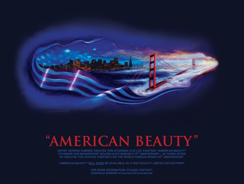 Print of American Beauty