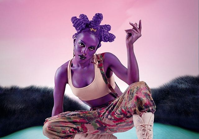 Juliana Huxtable, Untitled (Psychosocial Stuntin'), 2015. Color inkjet print. The Studio Museum in Harlem; Museum Purchase with funds provided by the Acquisition Committee 2015.8.1. © Juliana Huxtable. Courtesy the artist and American Federation of Arts