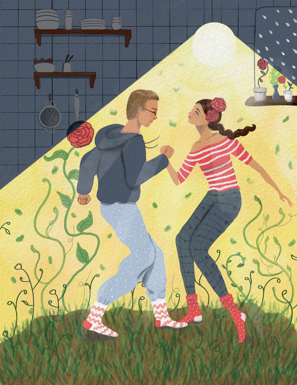 Dancing Brings Happiness