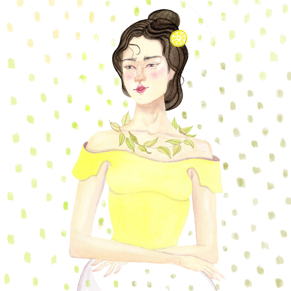 Elle Powell Art Copyright_lemon lady EDITED.jpg