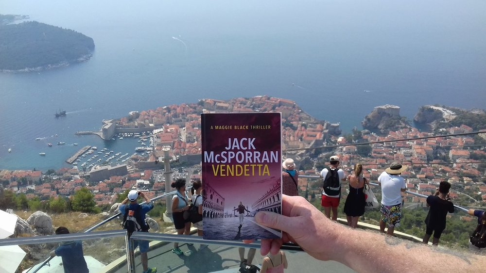 Frank took Vendetta to Dubrovnik with him.