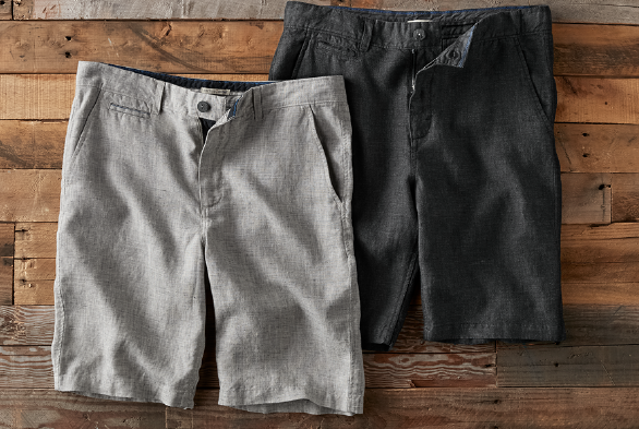 Top Shelf Linen Shorts