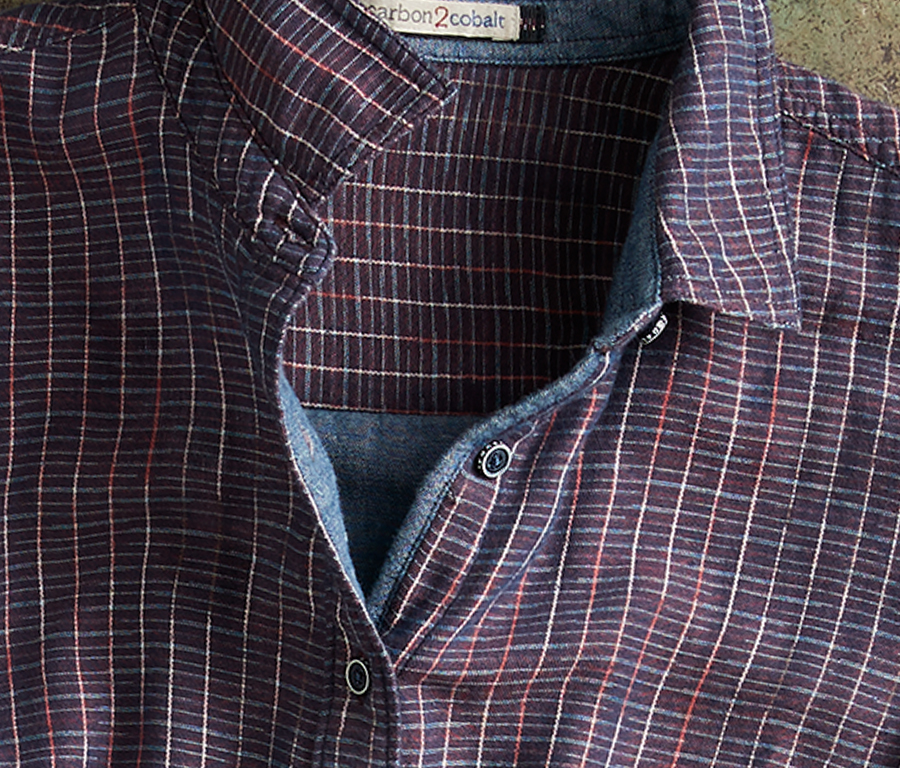 Discover the Trellis Plaid   Purely carbon2cobalt, but uniquely for her — this feels like a seasonal plaid perfect for the season, but with a modern twist. With its own indigo accents, this shirts goes perfectly with jeans and boots.