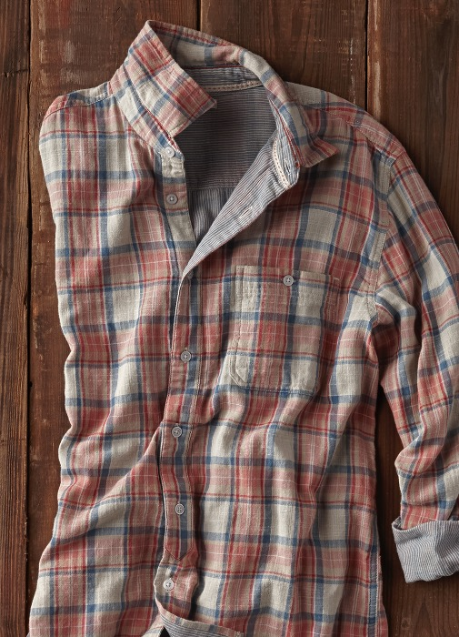 vintage-inspired and Softer than Soft - MESA PLAID