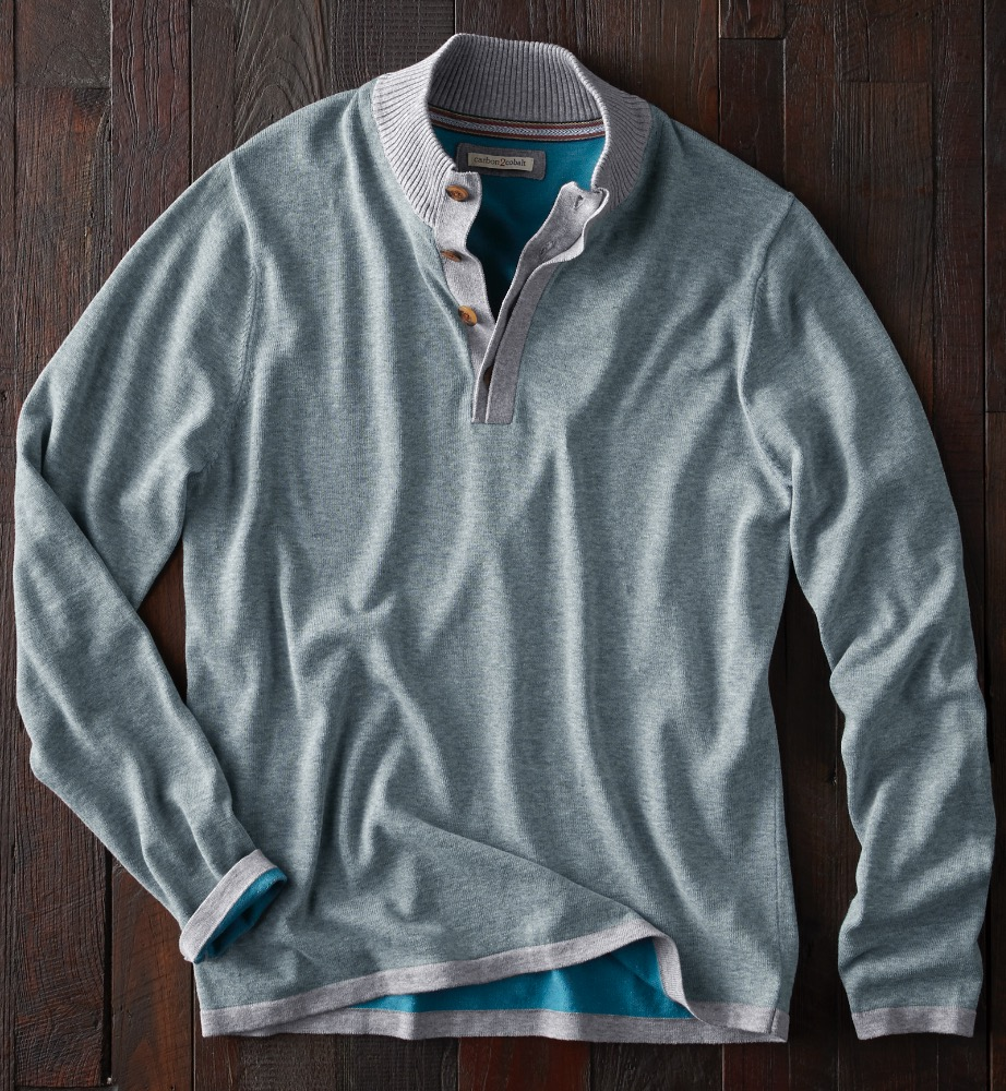 Brings together colors of the sea and Sky - VISTA SWEATER