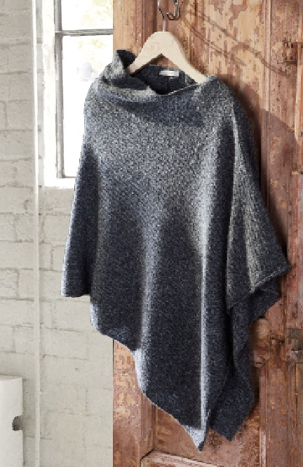 the perfect Kiss of Warmth - COZY PONCHO