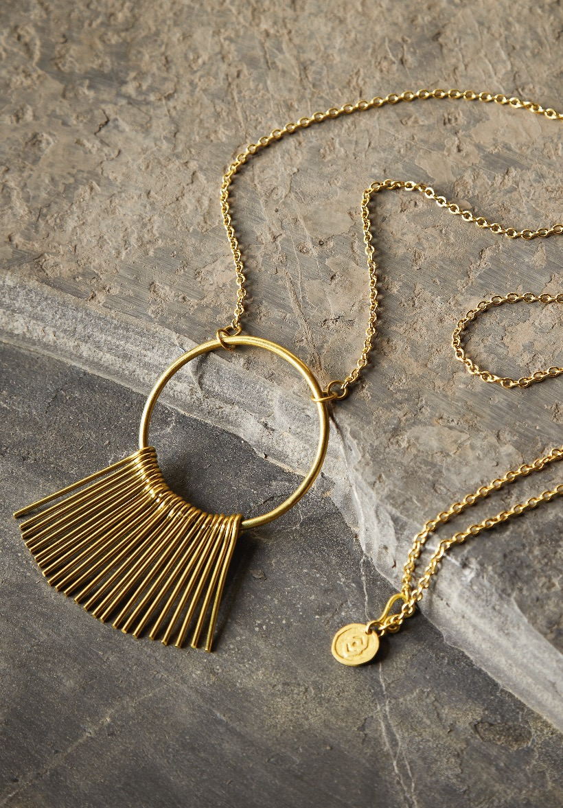 Add Some Radiance - SUNRAY NECKLACE