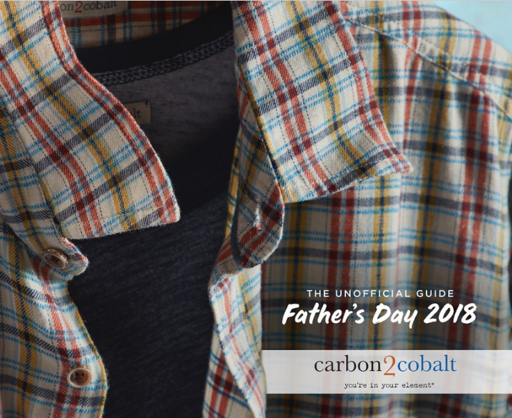 For all the dads on your list - Browse some great ideas for Father's Day gifts from Carbon2Cobalt. Take a look here.