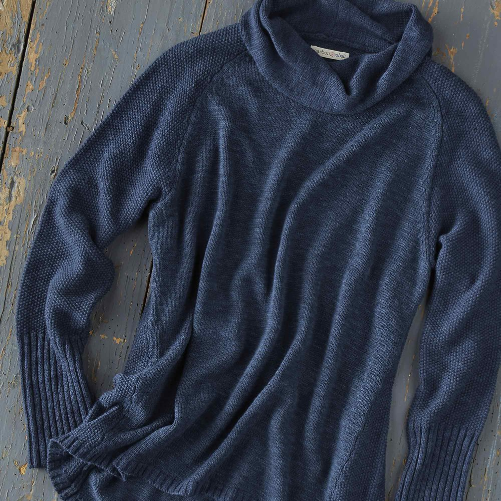 Small Hours Sweater - Deep Blue Beauty