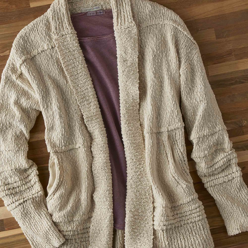 Sand Dollar Sweater - Knit for the Warm-Hearted