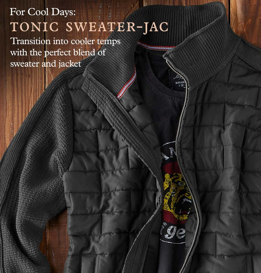 Tonic Sweater-Jac