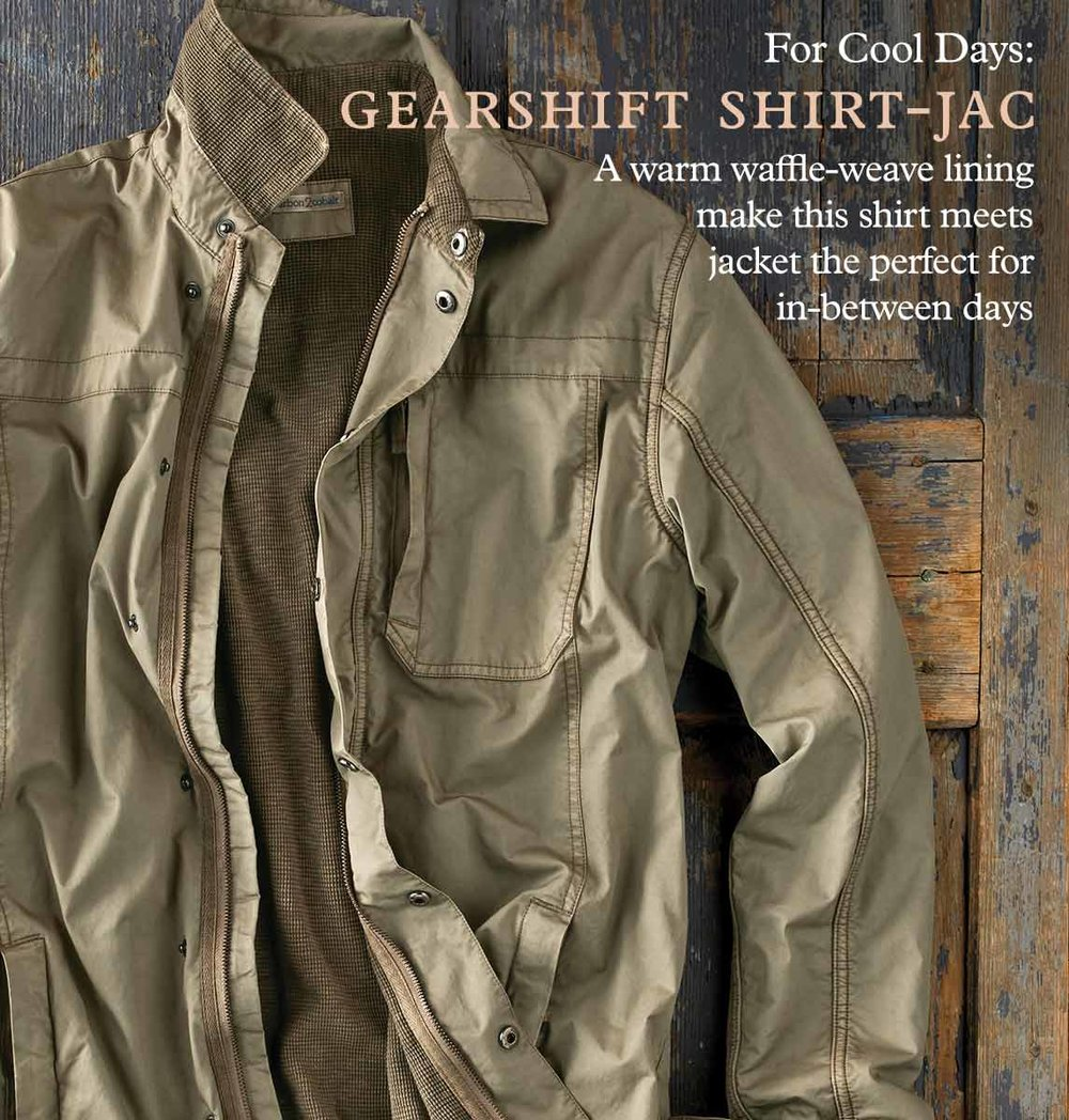 Gearshift Shirt-Jac