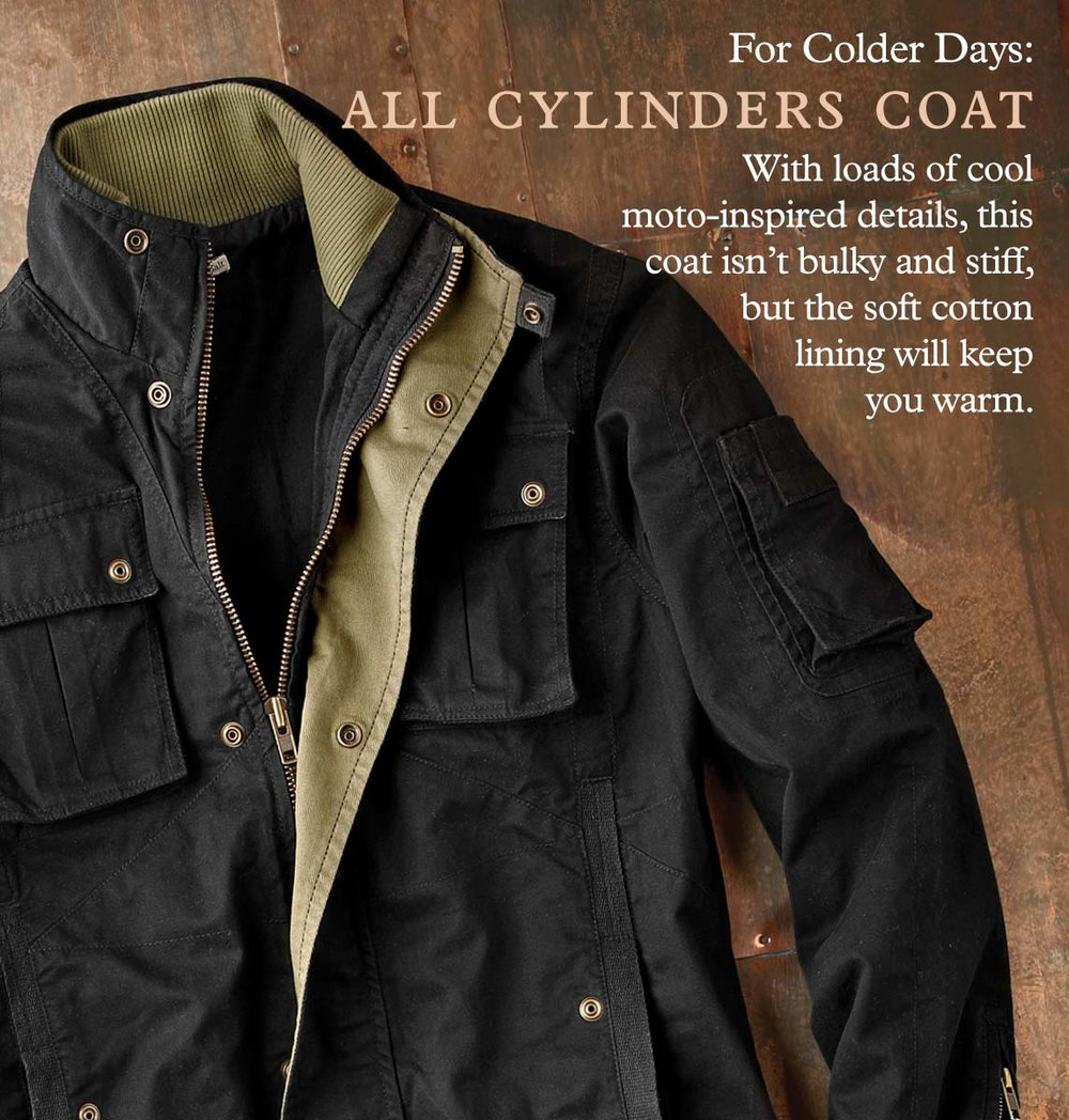 All Cylinders Coat