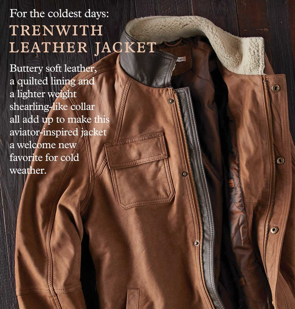 Trenwith Leather Jacket