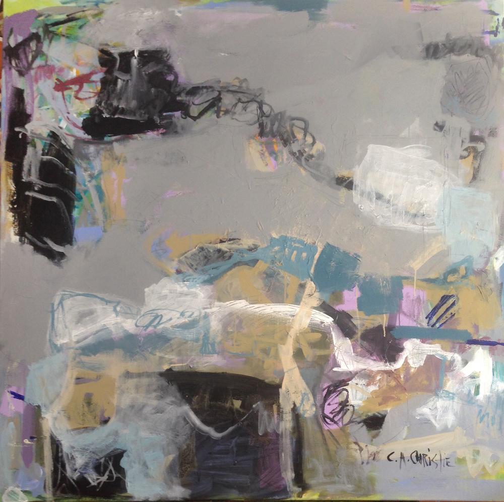 Blush of Spring, 48x48