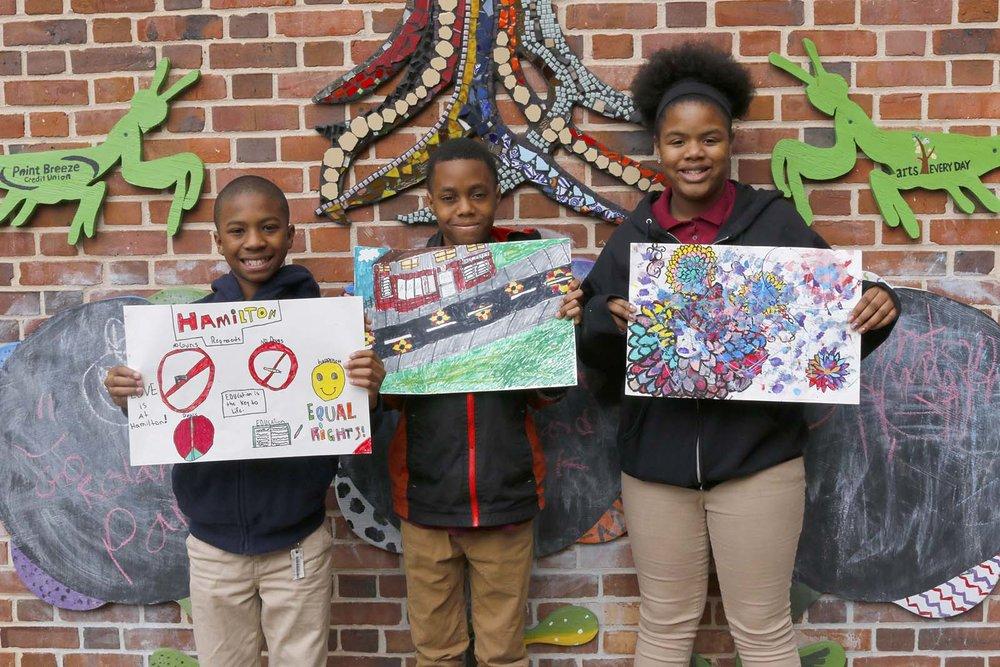 Hamilton Elementary Students