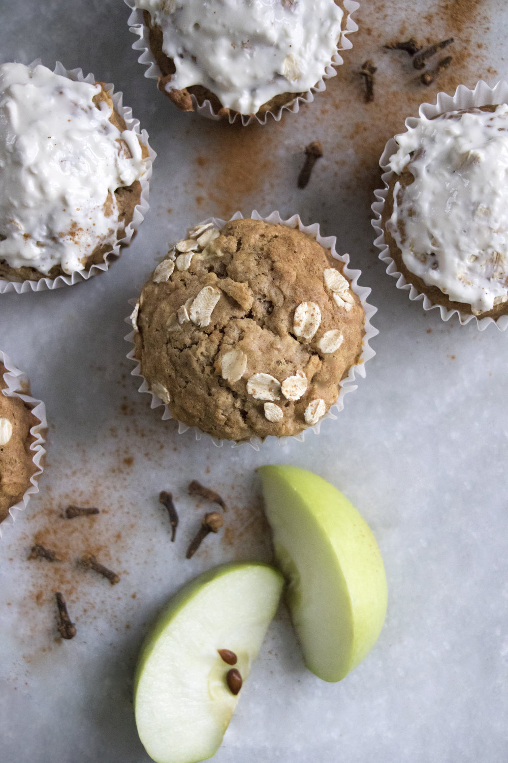 Chai-Spiced Apple Muffins