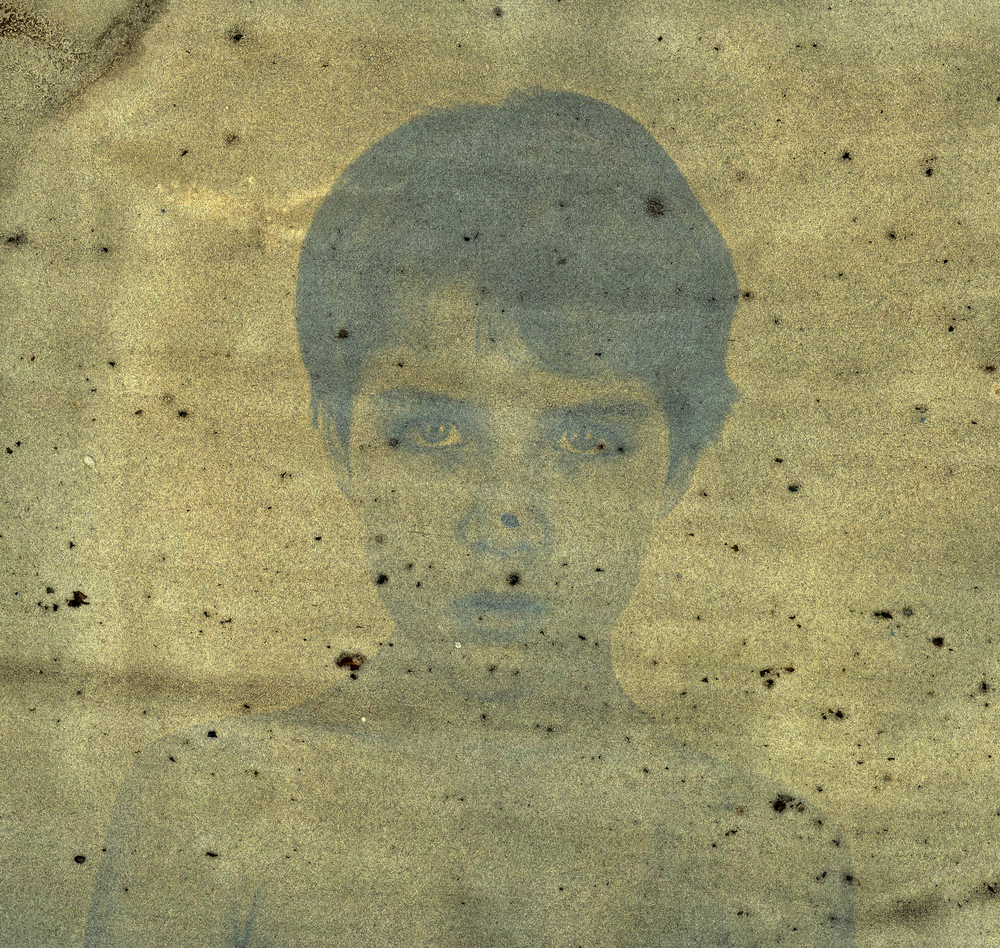 Simon, Mulberry emulsion anthotype, 2015