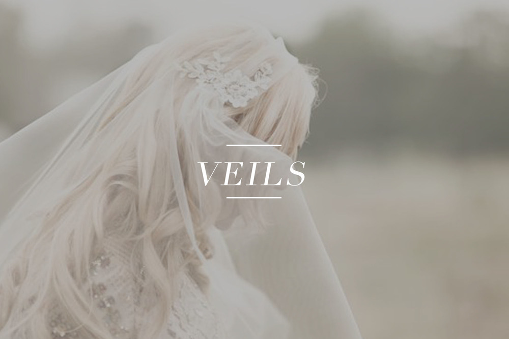 Bridal veils available for purchase on LOVE FIND CO.
