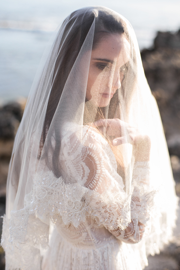 BRIDAL VEIL WITH SPARKLY WIDE FRENCH LACE BORDER IN IVORY STYLE ii.jpg