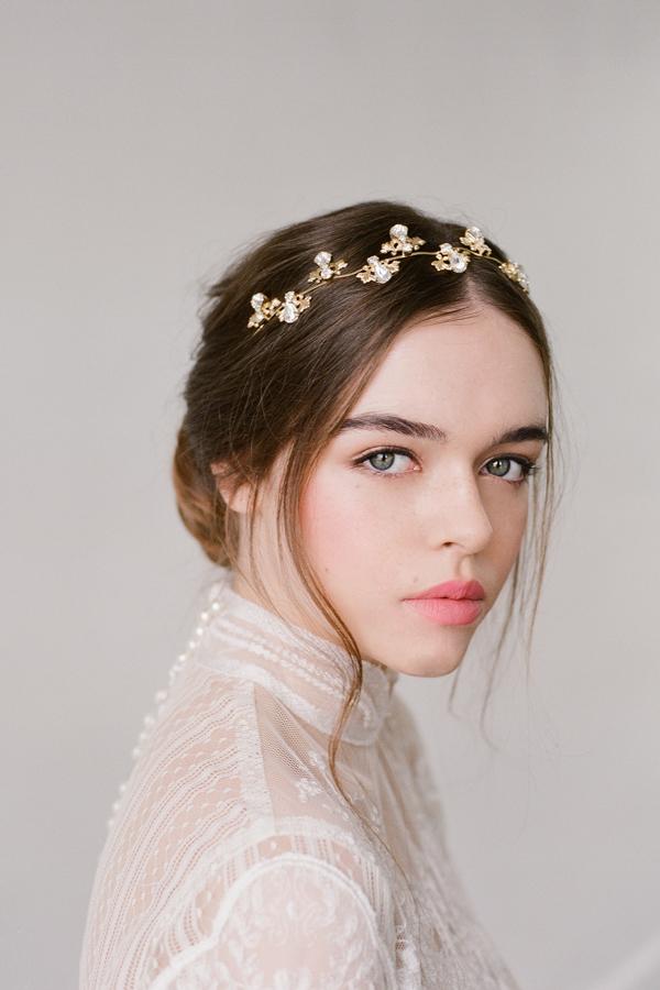KRISTINA GOLD CRYSTAL HAIR WREATH BRIDAL HEADPIECE i.jpg
