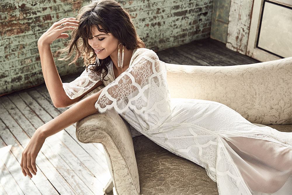 GRACE LOVES LACE // Ziggy // The Blanc Collection