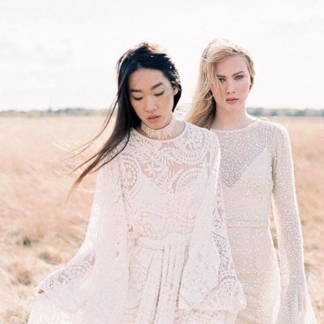 @babushkaballerina In awe of this beautiful editorial by @naturae_design featuring the diving @odylynetheceremony  Find this gorgeous Lady Wren gown (left) in @babushkaballerinasydney.jpg