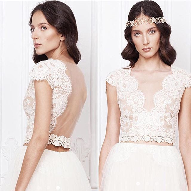 @babushkaballerina J Adore French lace toppers by @divineatelier .... SHOP online for your perfect bridal separates..jpg