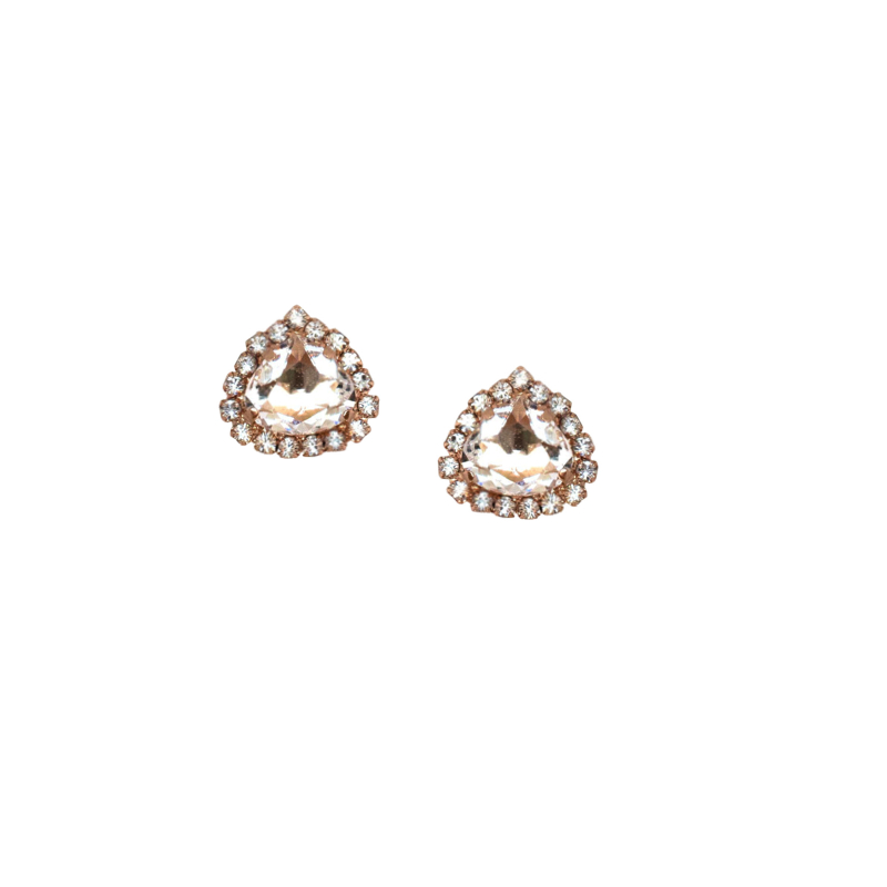 LOVE FIND CO. // Elle & Adhira Champagne Kiss Earrings