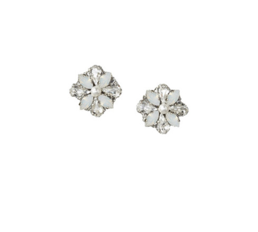 LOVE FIND CO. // Elizabeth Bower Della Opal Stud Earrings