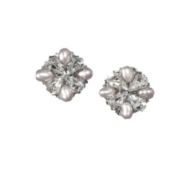 LOVE FIND CO. // Elizabeth Bower Grace Pearl Stud Earring