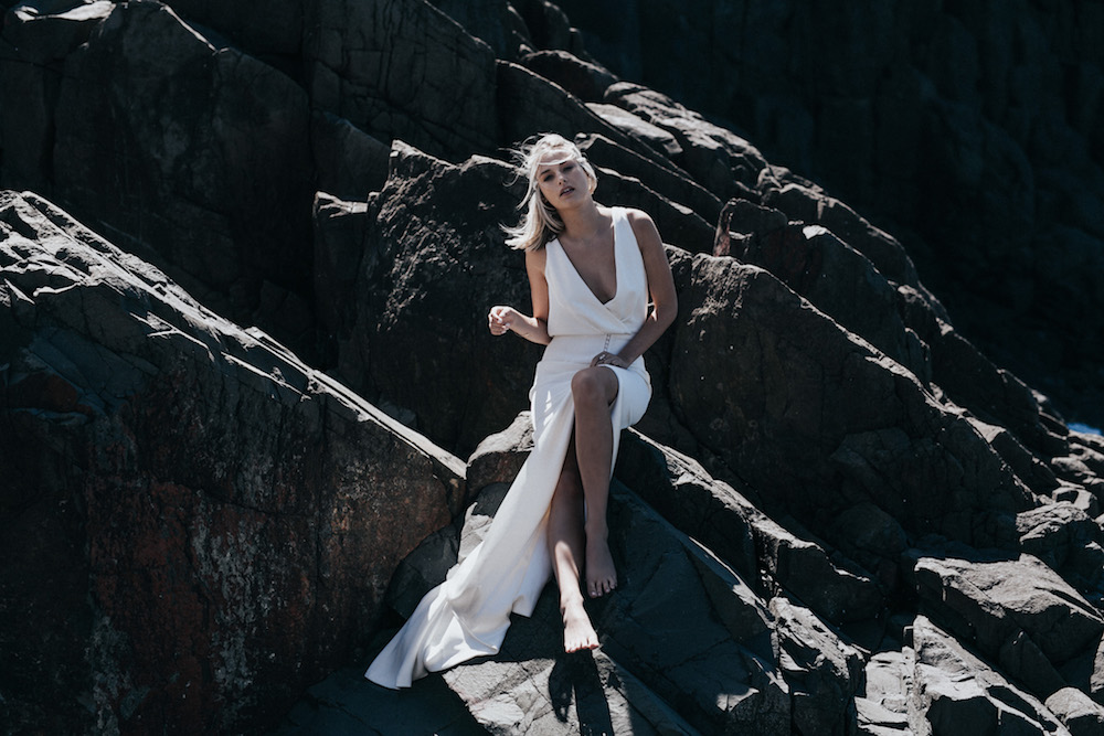 LOVE FIND CO. // Prea James Campaign // The Arielle Gown