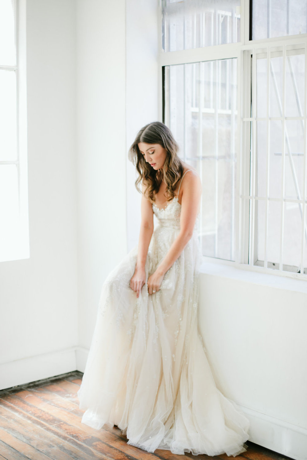 Wedding Dress featured in the first editorial by LOVE FIND CO.
