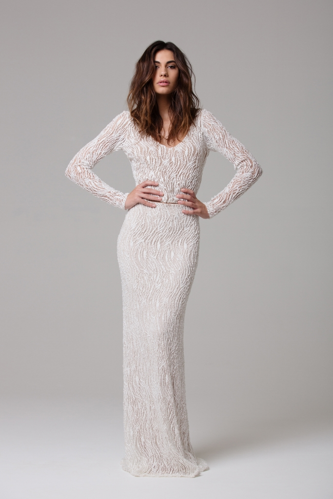 Fashion ivie white bridal love find co for Wedding dress bodysuit and skirt