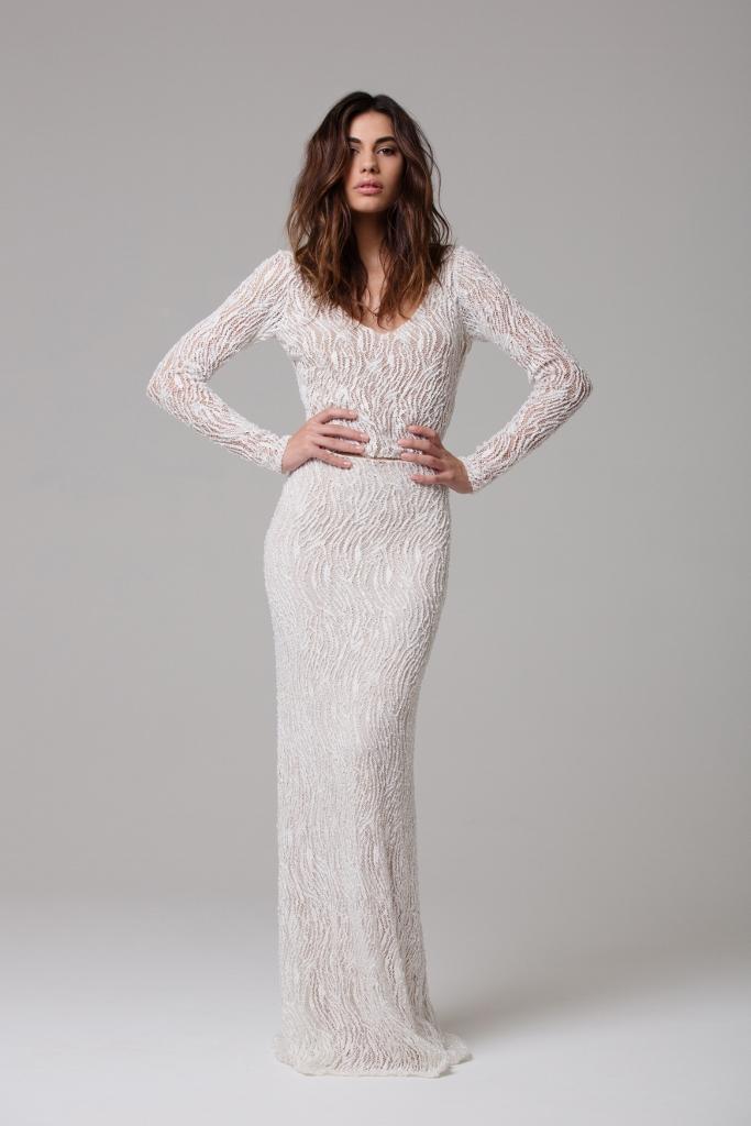 LOVE FIND CO. // Ivie White Bridal - The Sephora Bodysuit & Reine Skirt // Follow @lovefindco