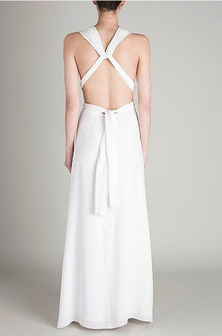 Wedding Dress Designer | Bianca Spender - White Ascendant Gown | Love Find Co.
