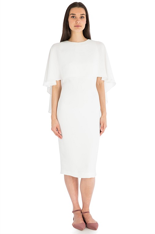 Wedding Dress Designer | Carla Zampatti - White Crepe Cloud Nine Dress | Love Find Co.