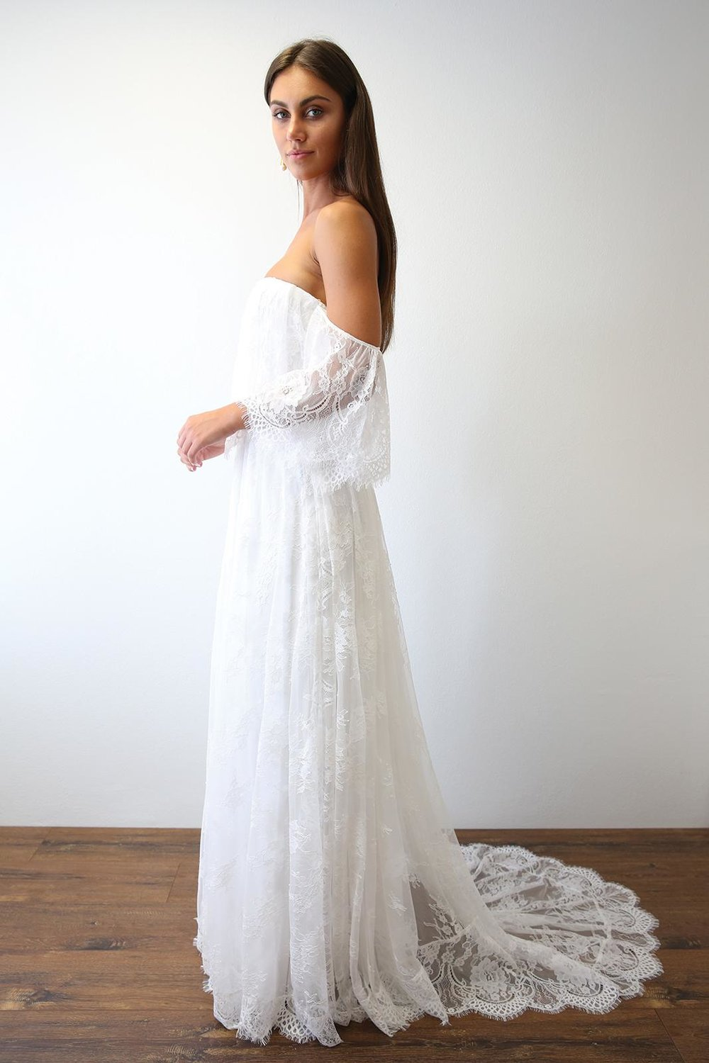 Wedding Dress Designer | Grace Loves Lace Florence Gown | Love Find Co.
