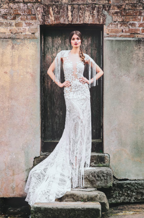 Our Guide To Couture Wedding Dresses - Saint Elia featured on LOVE FIND CO.