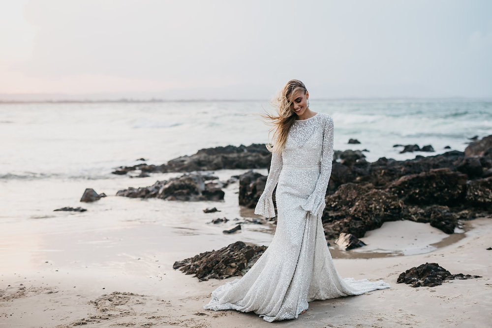 LOVE FIND CO. Editorial Volume Three featuring Odylyne The Ceremony Wedding Dress
