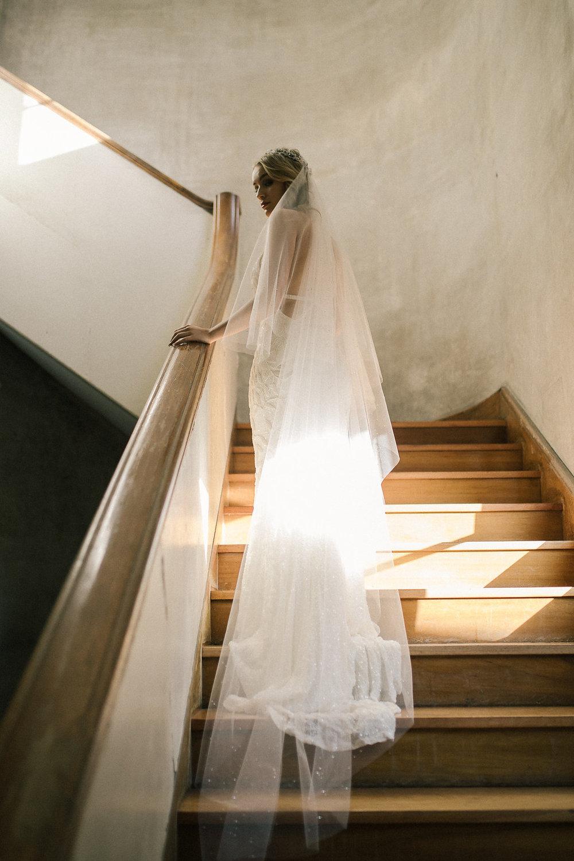 Etoile Crystal Wedding Veil