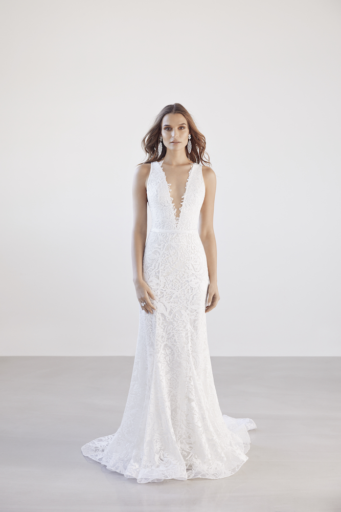 Suzanne Harward Cleon Wedding Dress as featured on LOVE FIND CO.