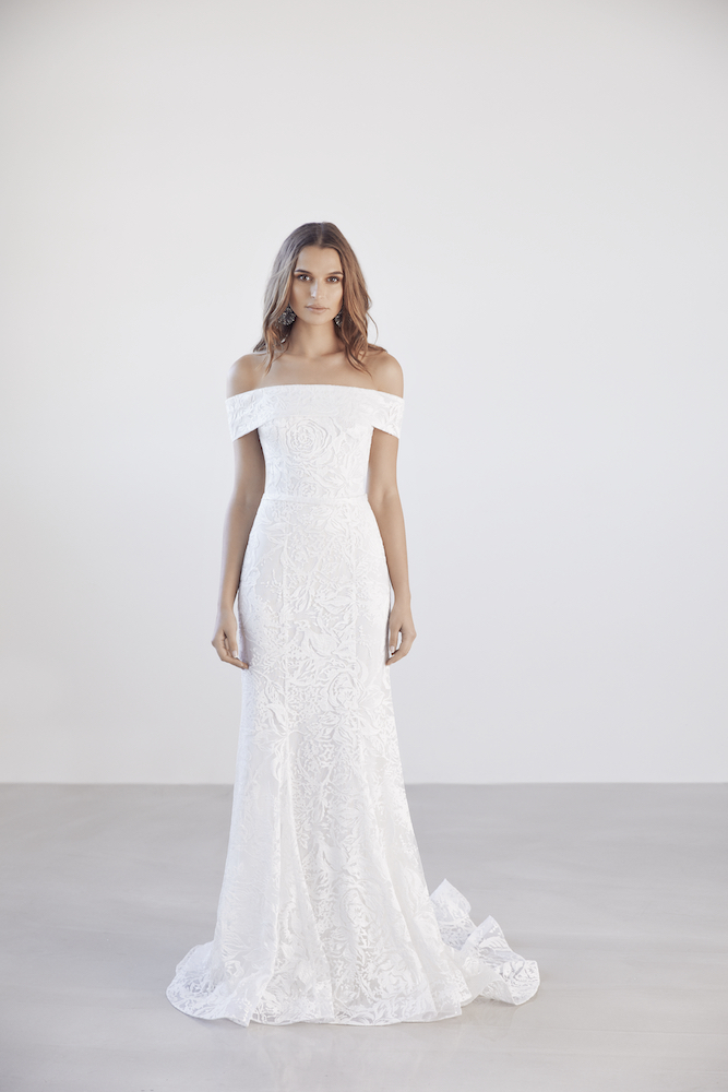 Suzanne Harward Echo Wedding Dress as featured on LOVE FIND CO.