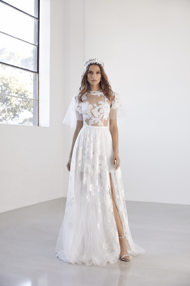 Suzanne Harward Fleur Wedding Dress as featured on LOVE FIND CO.