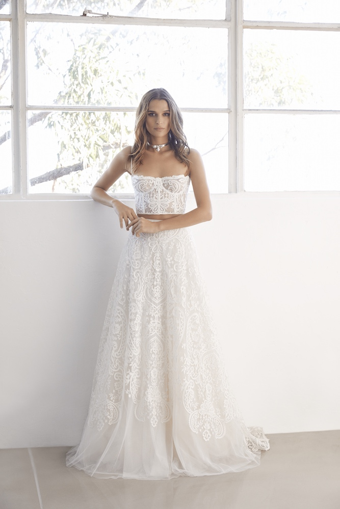 Suzanne Harward Muse Wedding Dress as featured on LOVE FIND CO.