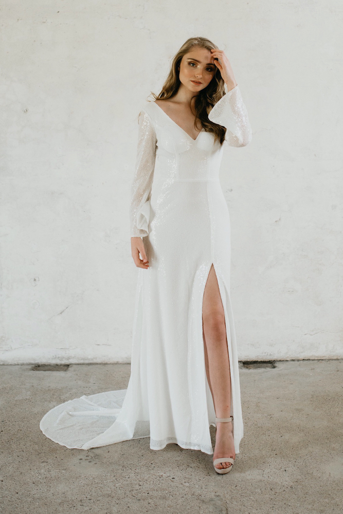 Haven Wedding Dress by Goddess Of Nature by LOVE FIND CO.