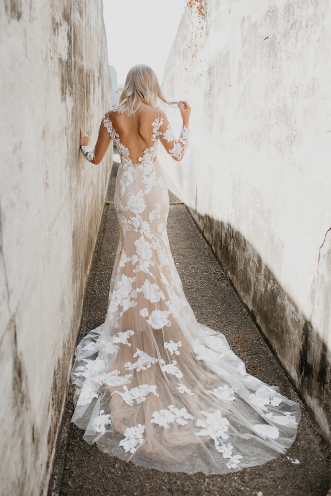 Vivienne Wedding Dress by Goddess Of Nature by LOVE FIND CO.