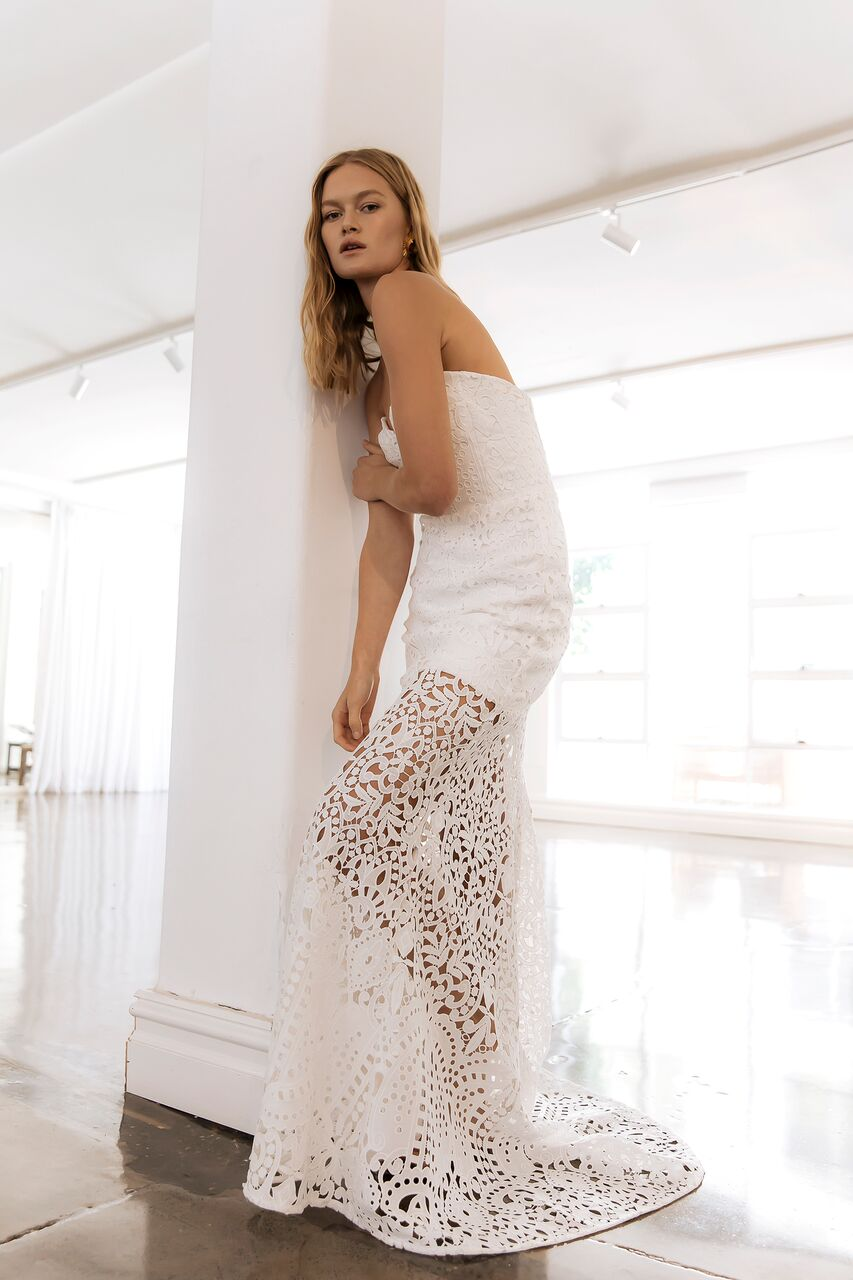 The Lia wedding dress by Prea James as featured on LOVE FIND CO.