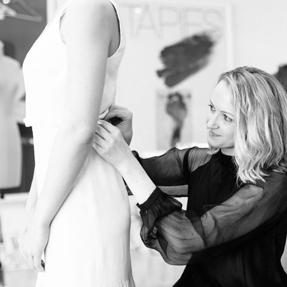 Bridal Designer Fiona Claire interviewed by LOVE FIND CO.