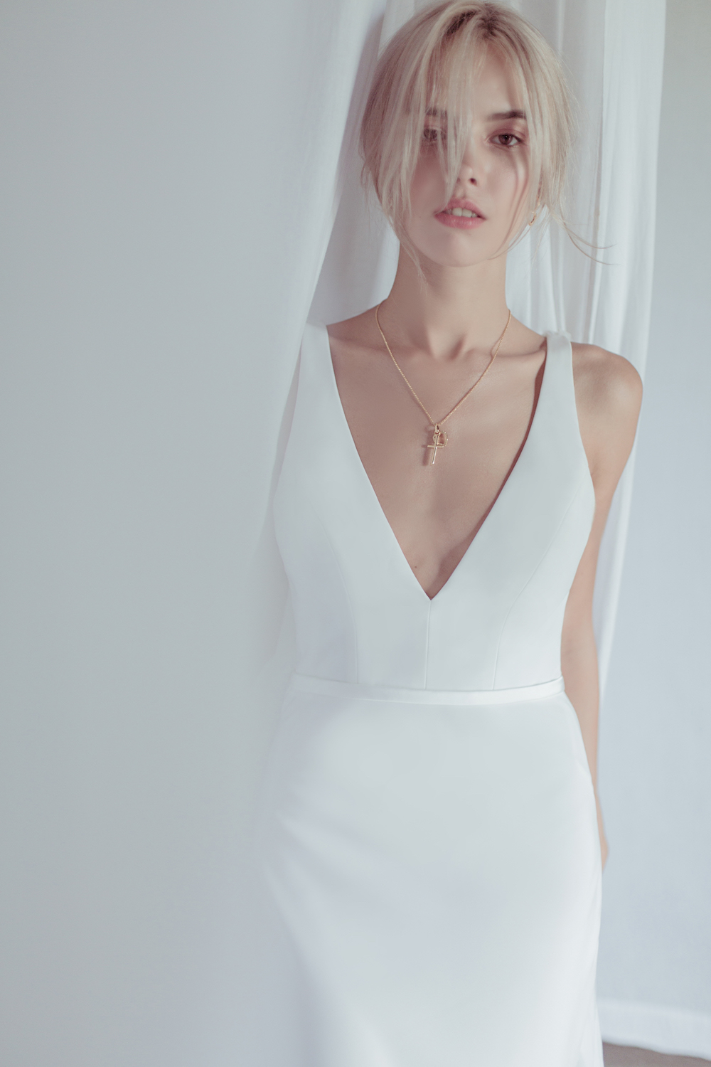 The Amalfi Wedding dress by Oui The Label 2018 Stolen Moments Bridal Collection featured on LOVE FIND CO.